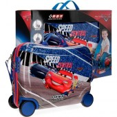 Disney Cars Speed Central 4-kerekes gyermekbőrönd DI-43699